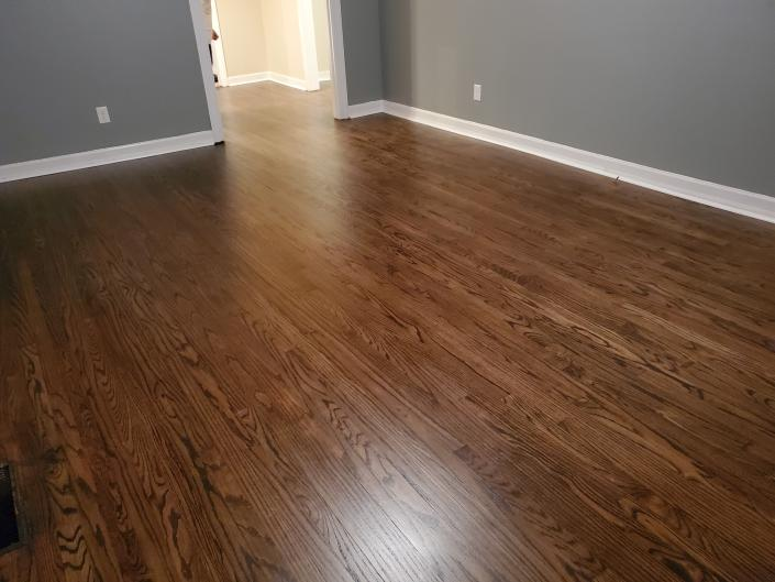 Dark Walnut Stain in Paducah Ky